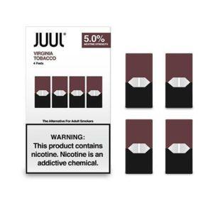 Virginia Tobacco Juul Pods (pack of 4) original 100% in Dubai
