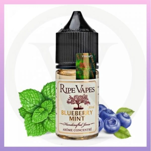 Blueberry Mint Salt Nic Ripe Vapes