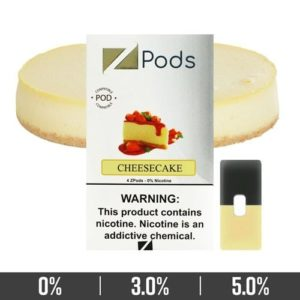 Cheesecake Ziip Pods for Juul Devices