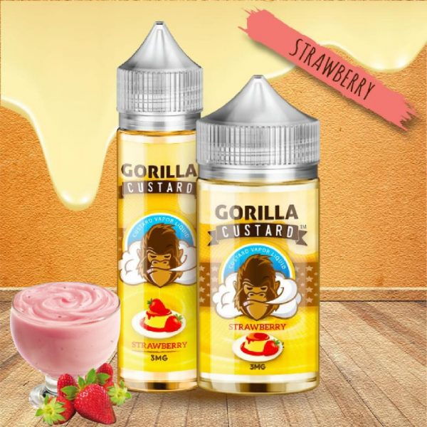 Gorilla Custard Strawberry