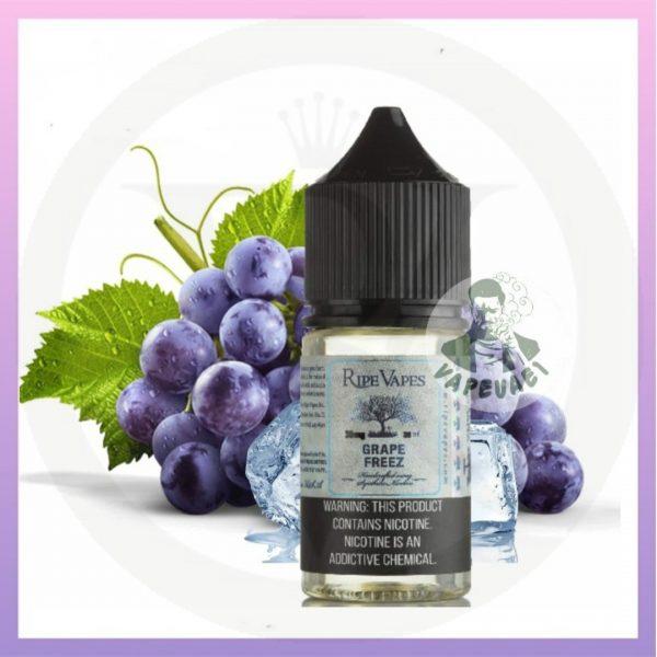 grape freez salt nic ripe vapes 30ml