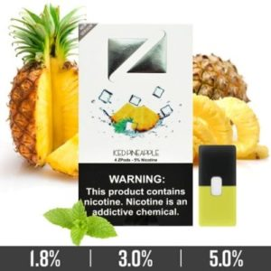 Iced Pineapple Ziip Pods for Juul Devices