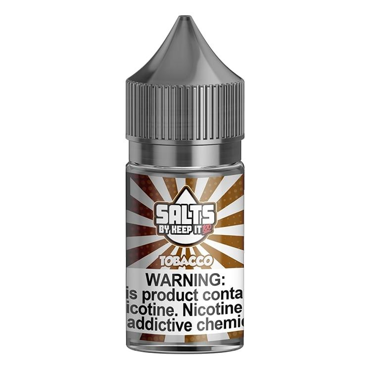 TOBACCO – KEEP IT 100 SALTS – 30ML