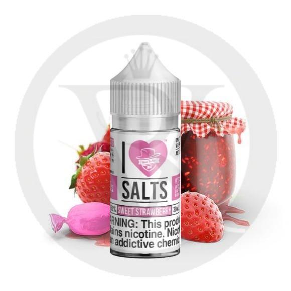 MAD HATTER I LOVE SALTS SWEET STRAWBERRY