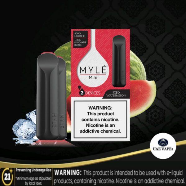 MYLE MINI DISPOSABLE POD ICED WATERMELON