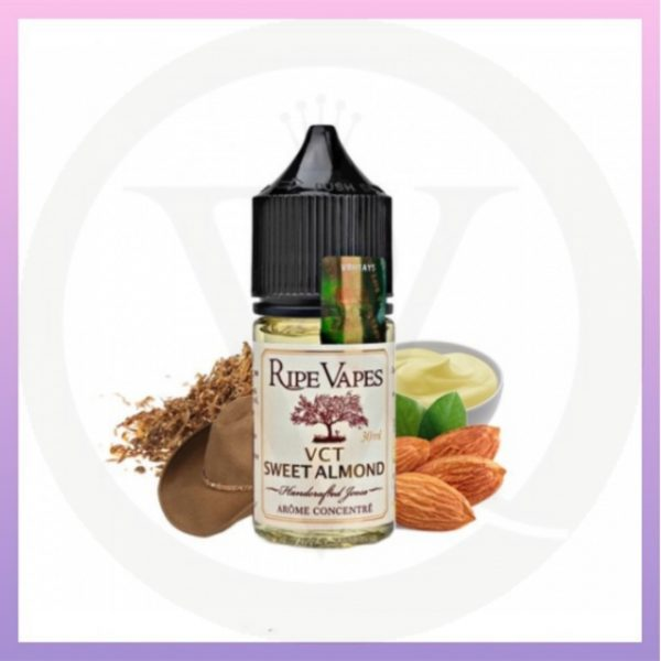 VCT Sweet Almond Salts by ripe vapes 30mll