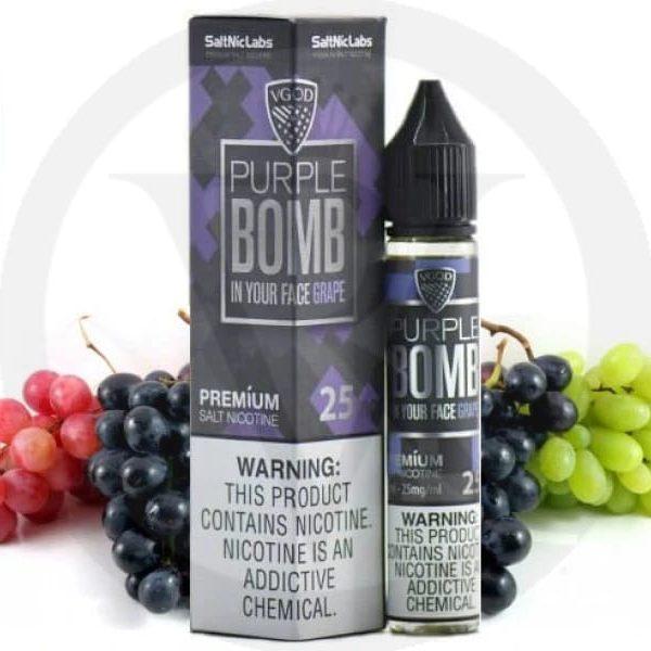 Vgod Saltnic Purple Bomb