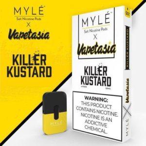 MYLE Pods VAPETASIA Killer Kustard in Dubai