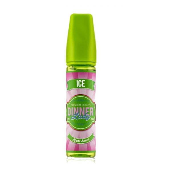 APPLE SOUR ICE – VAPE DINNER LADY E-LIQUID – 60ML