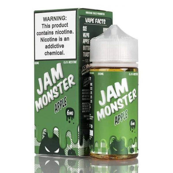 APPLE – JAM MONSTER LIQUIDS – 100ML