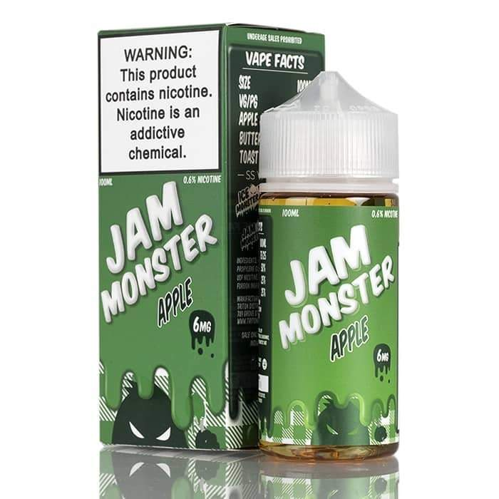 APPLE – JAM MONSTER LIQUIDS – 100ML
