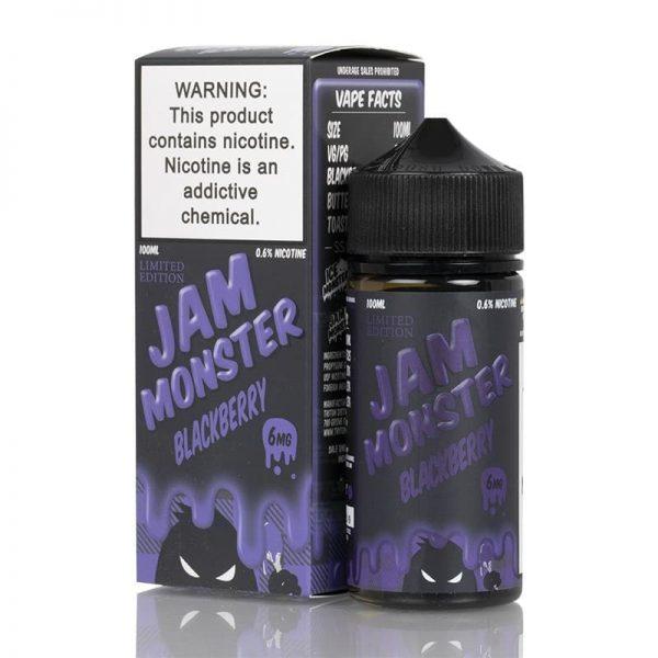 BLACKBERRY – JAM MONSTER LIQUIDS – 100ML