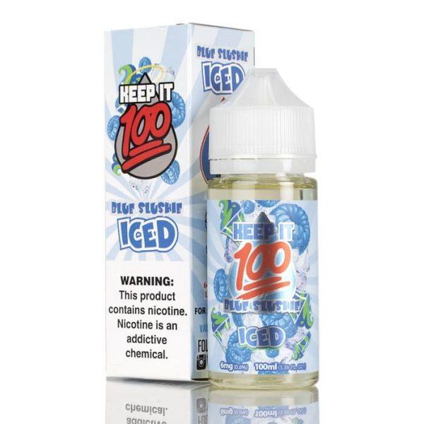 BLUE SLUSHIE ICED – KEEP IT 100 E-LIQUID – 100ML