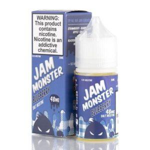 BLUEBERRY – JAM MONSTER SALTS E-LIQUID – 30ML