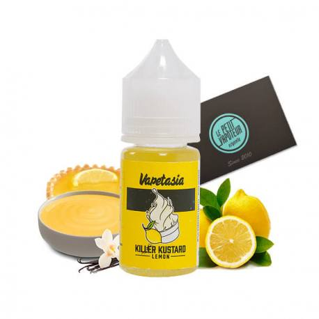 Uploaded ToKILER KUSTARD LEMON – VAPETASIA SALTS – 30ML