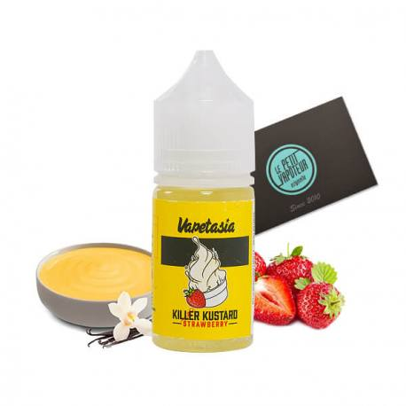 KILER KUSTARD STRAWBERRY – VAPETASIA SALTS – 30ML