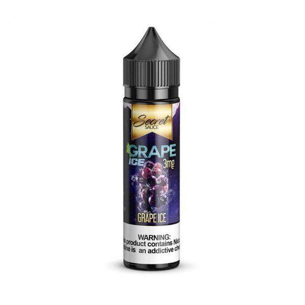 SECRET SAUCE E-LIQUID – GRAPE ICE – 60ML