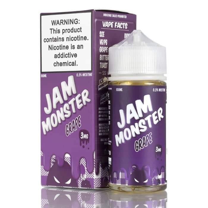GRAPE – JAM MONSTER LIQUIDS – 100ML