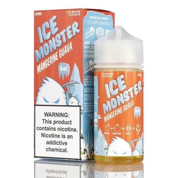 ICE MONSTER – MANGERINE GUAVA BY JAM MONSTER LIQUIDS – 100ML