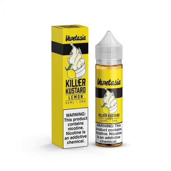 VAPETASIA – KILLER KUSTARD LEMON – 60ML