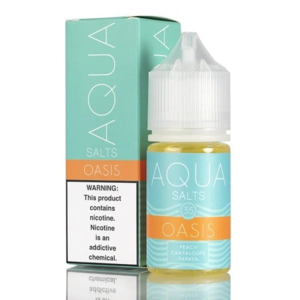 OASIS BY AQUA SALTS E-LIQUID 30ML