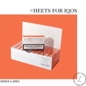 IQOS HEETS: The Best cheap IQOS HEETS AMBER LABEL