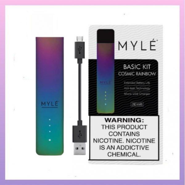 Myle pods kit v4 Cosmic Rainbow