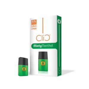 Best Minty Menthol Pod BY CLIC in Dubai