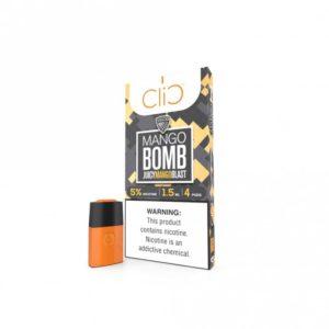 Best Vgod Mango Bomb Pod by Clic in Dubai