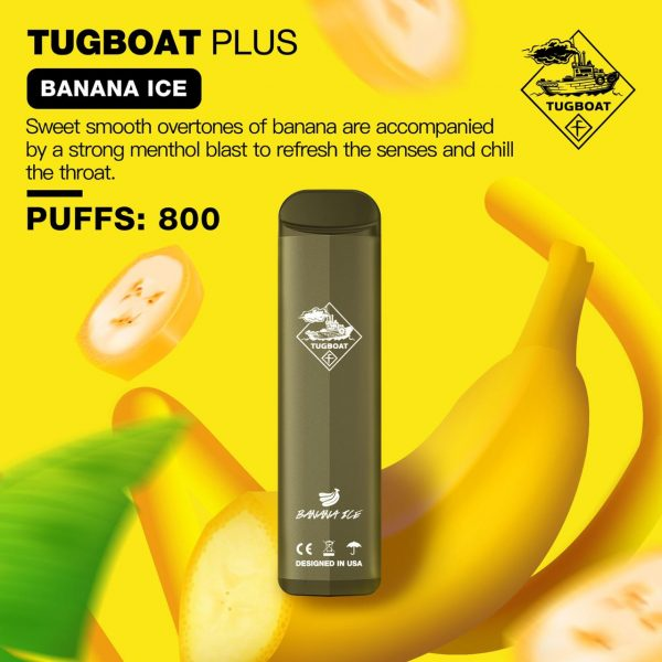 TUGBOAT PLUS BANANA ICE IN DUBAI/UAE