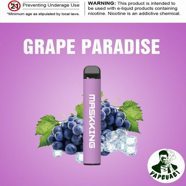 MASKKING GRAPE PARADISE IN DUBAI/UAE