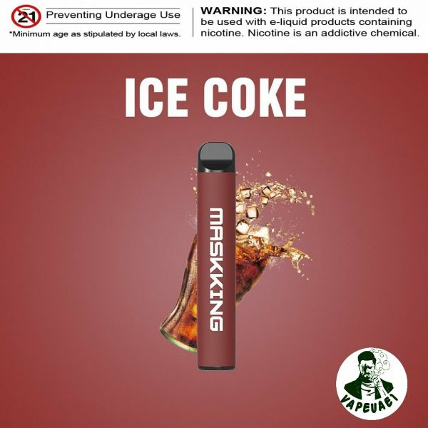 MASKKING ICE COKE POD IN DUBAI/UAE