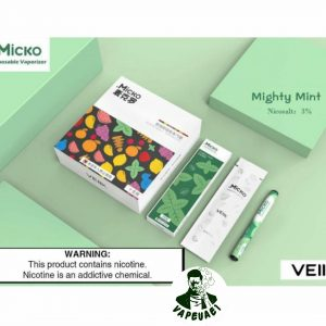 Micko Disposable Vaporizer By Veiik – Mighty mint IN DUBAI/UAE