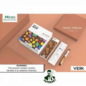 Micko Disposable Vaporizer By Veiik-classic tobacco IN DUBAI/UAE