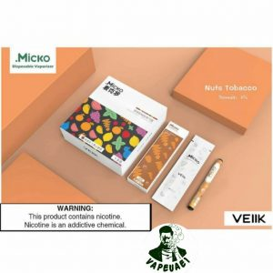 Micko Disposable Vaporizer By Veiik-Nuts Tobacco IN DUBAI/UAE