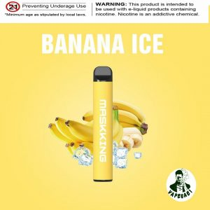 MASKKING BANANA ICE POD IN DUBAI/UAE