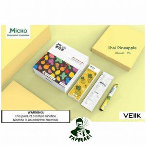 Micko Disposable By Veiik-Thai Pinapple IN DUBAI/UAE