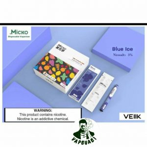 Micko Disposable By Veiik-Blue Ice IN DUBAI/UAE