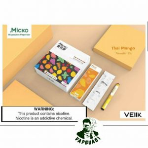 Micko Disposable Vaporizer By Veiik-Thai Mango IN DUBAI/UAE