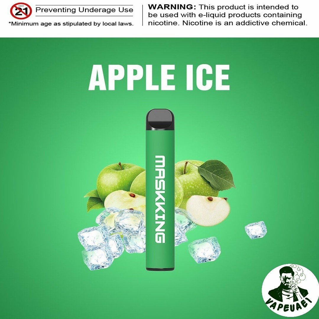 MASKKING APPLE ICE POD IN DUBAI/UAE