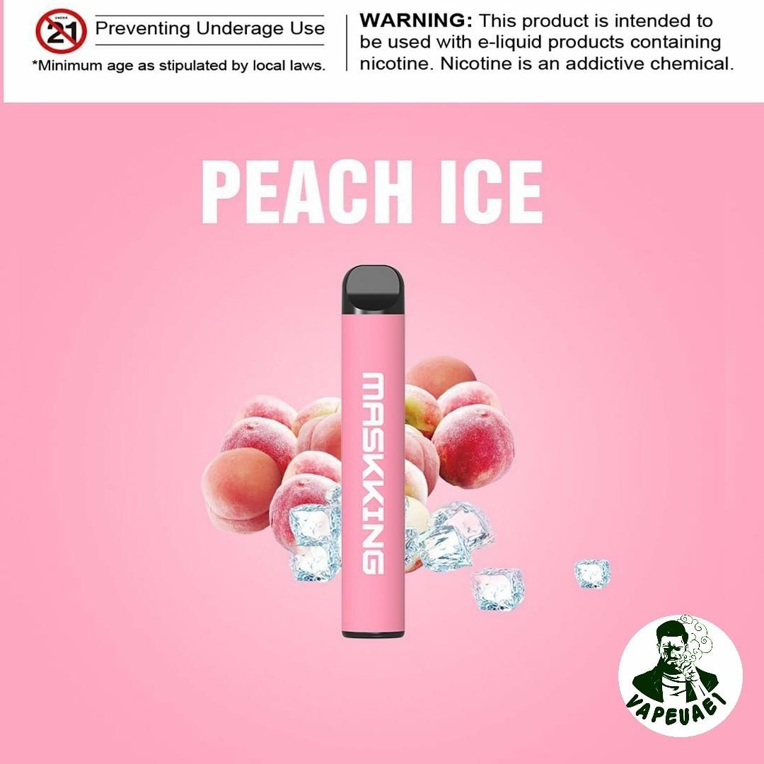 MASKKING PEACH ICE POD IN DUBAI/UAE