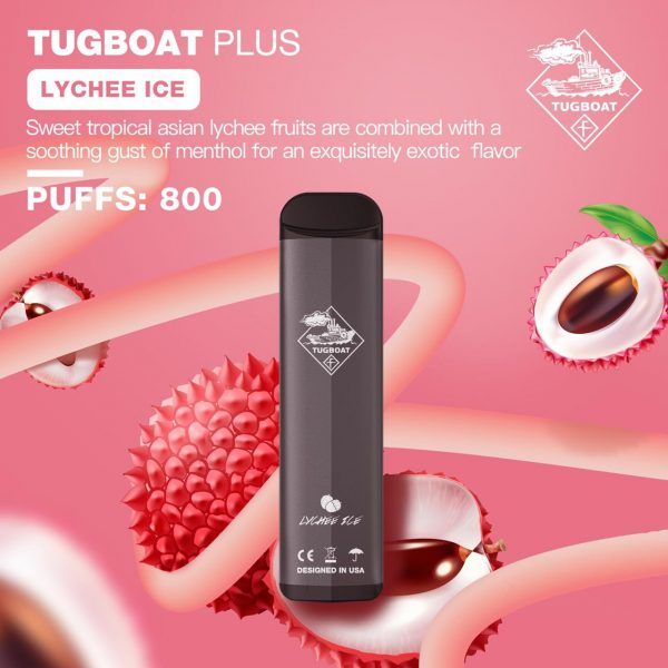 TUGBOAT PLUS LYCHEE ICE IN DUBAI/UAE