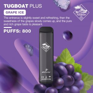 TUGBOAT PLUS GRAPE ICE IN DUBAI/UAE
