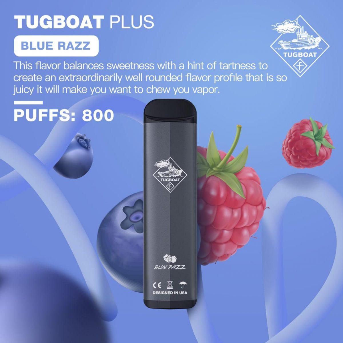 TUGBOAT PLUS BLUE RAZZ IN DUBAI/UAE