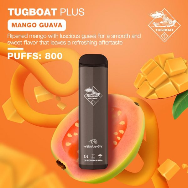 TUGBOAT PLUS MANGO GUAVA IN DUBAI/UAE