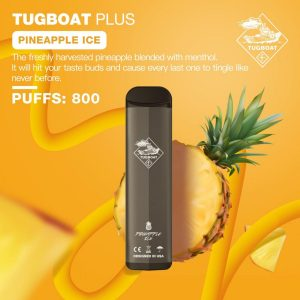 TUGBOAT PLUS PINEAPPLE ICE IN DUBAI/UAE