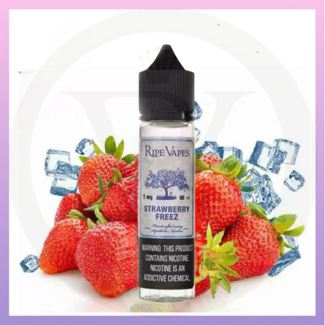 Ripe vapes strawberry freez