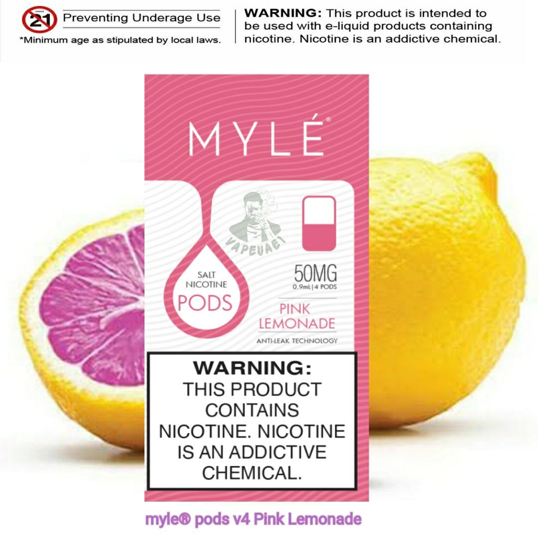 Pink Lemonade MYLÉ Pod V4