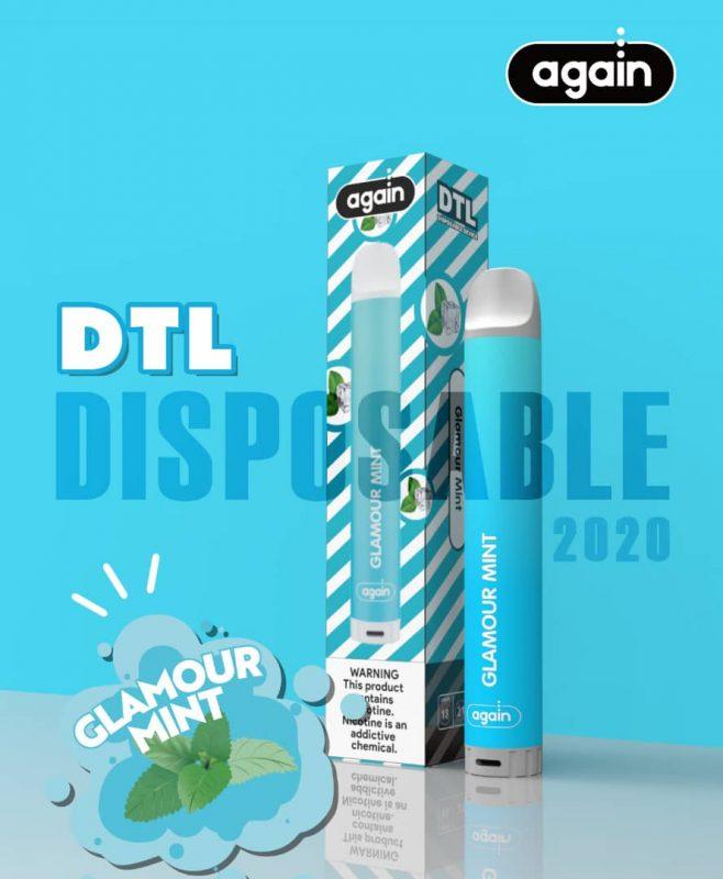 Again Dtl disposable Glamour Mint