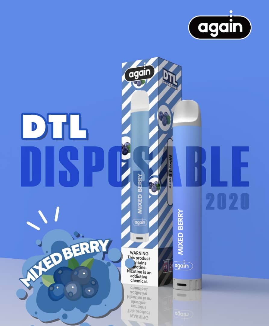 Again Dtl disposable Mixed Berry